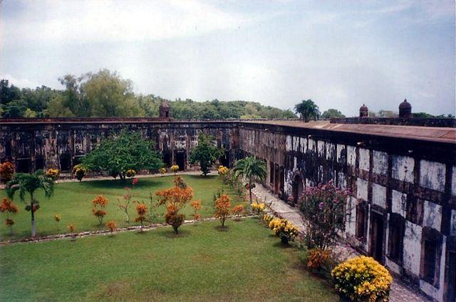 Las Fortalezas en Honduras,fortaleza-de-san-fernando-de-omoa