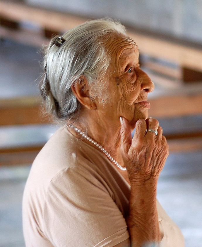 Honduras gente mayor