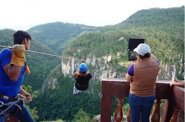 lugares para practicar canopy en Honduras la campa