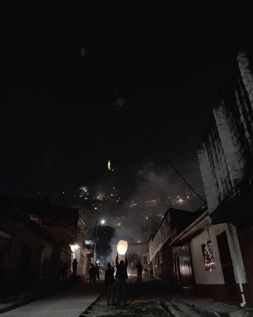 tegucigalpa Honduras de noche