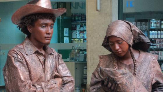 estatuas viviente