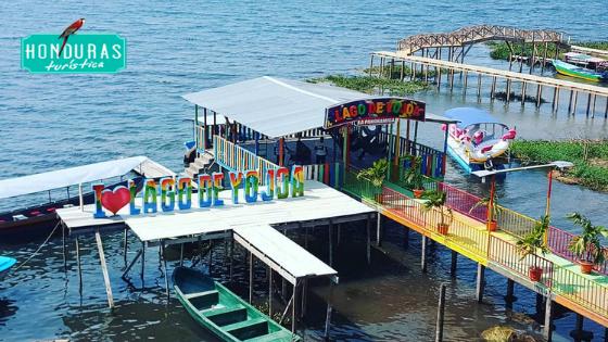 El Lago de Yojoa es literalmente el corazón de Honduras