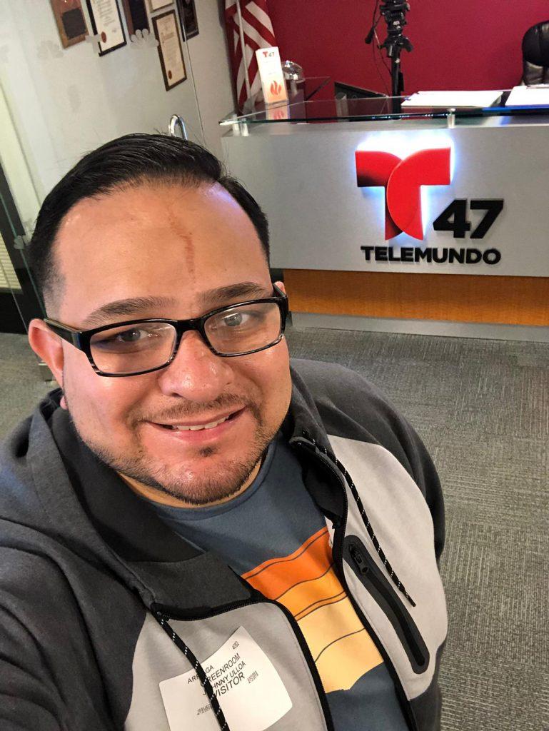 Johnny Ulloa cocinero de Honduras